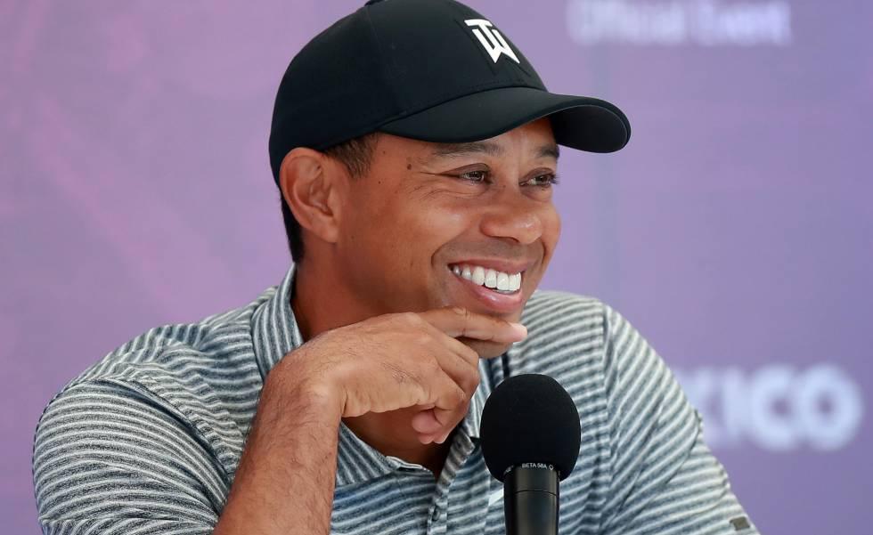 Tiger Woods, en México.
