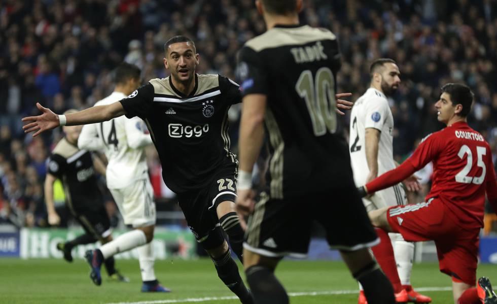 El Ajax Golea Al Madrid Y Lo Deja Fuera De La Champions