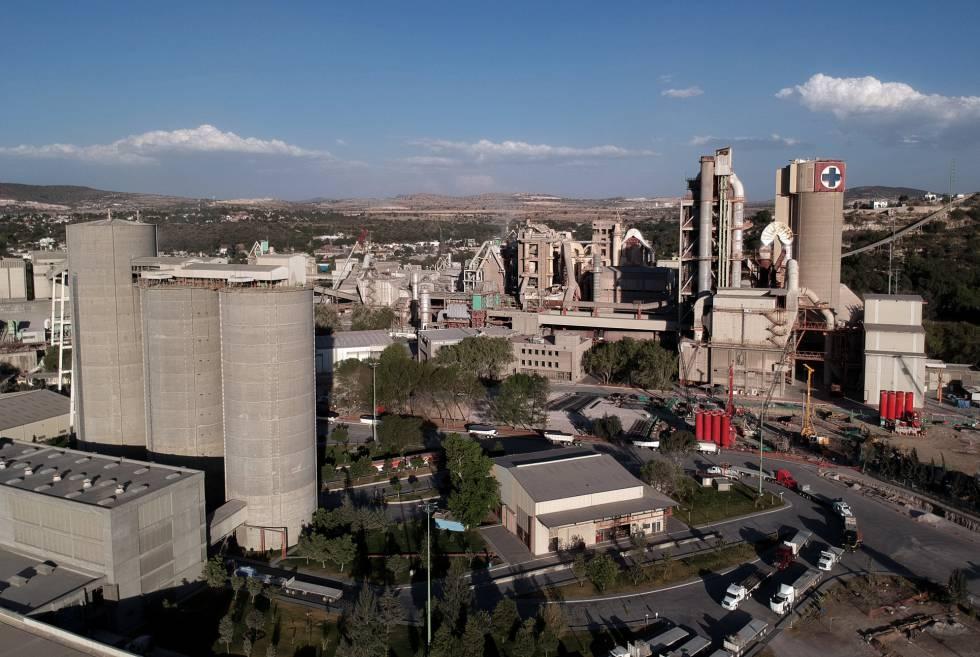 La fábrica principal de Cruz Azul.