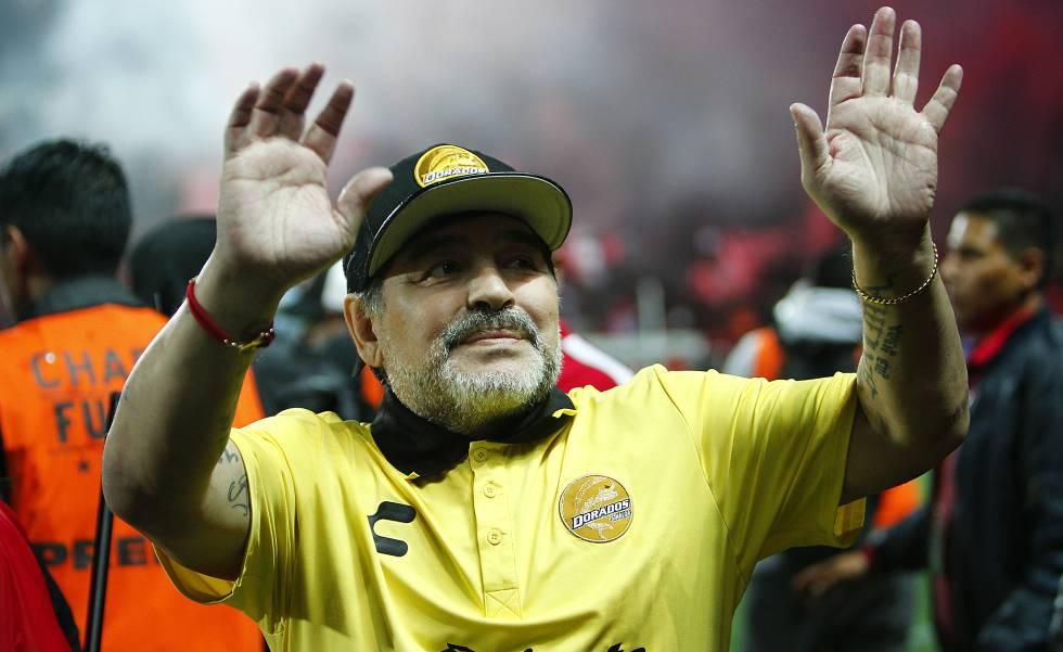 Maradona lleva a Dorados a su segunda final en busca del ascenso en México  | Deportes | EL PAÍS