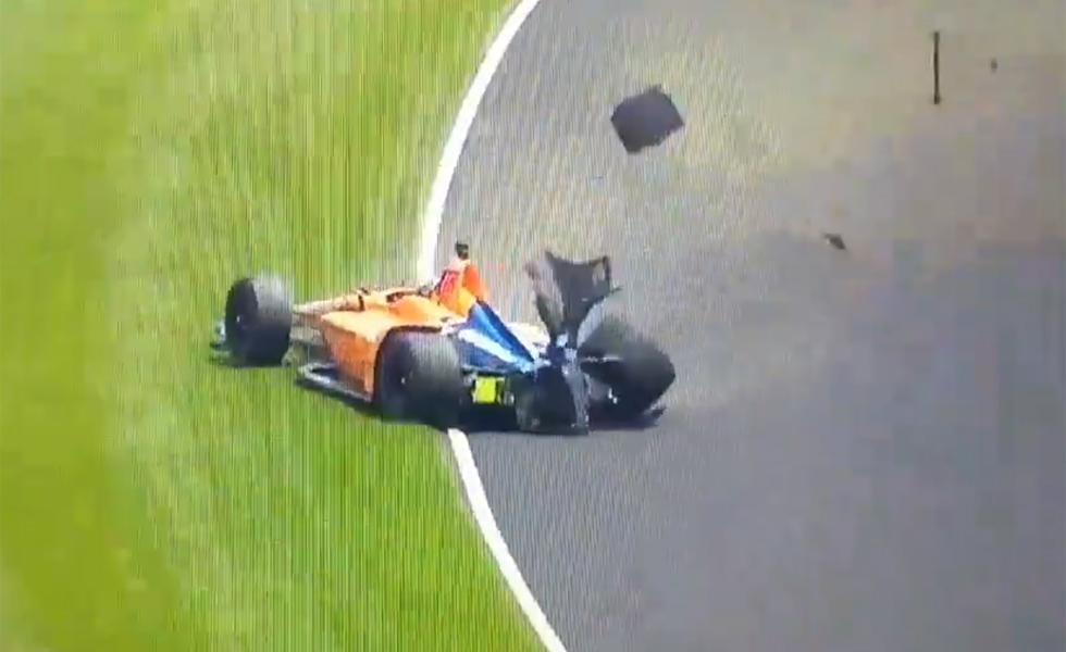 Circuito Fernando Alonso Accidente : Lo de alonso fue choque y fuga