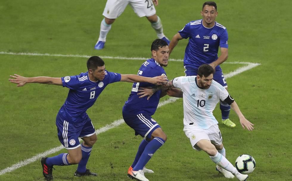 argentina paraguay copa america