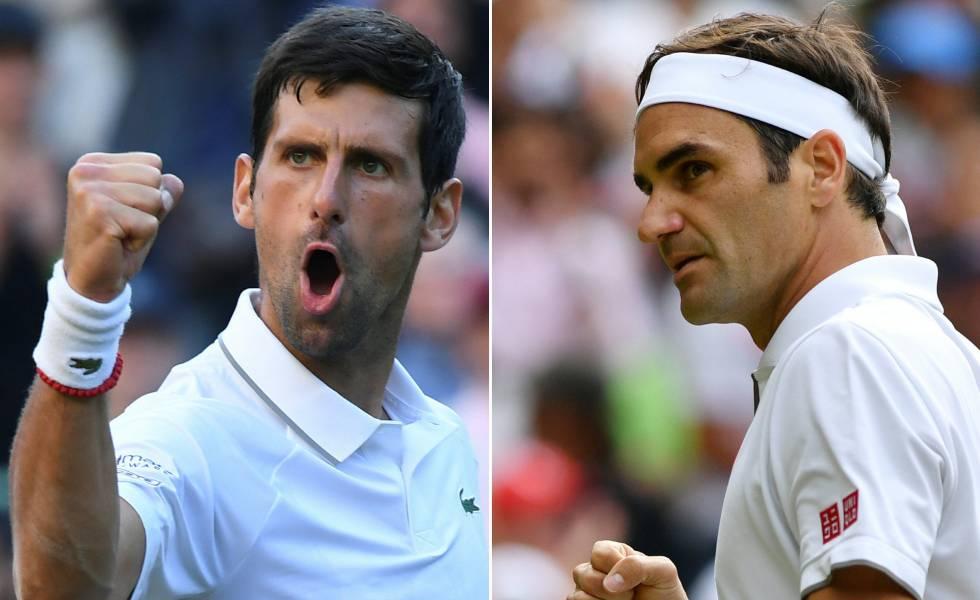 Wimbledon 2019 Djokovic Y Federer Cuestion De Historia Deportes El Pais
