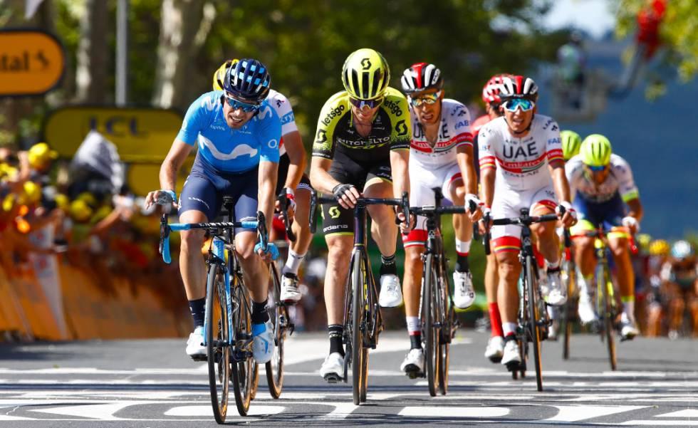 Landa, derribado, pierde el Tour de Francia