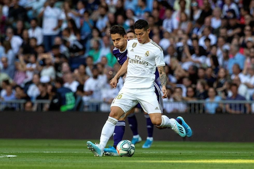 claro y distintivo mitad de descuento procesos de tintura meticulosos El Real Madrid empata con el Valladolid en el Bernabéu (1-1 ...