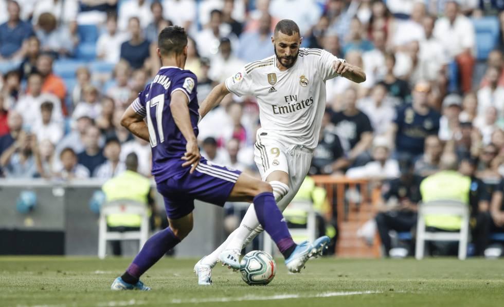 Un Madrid desconcertante empata con el Valladolid