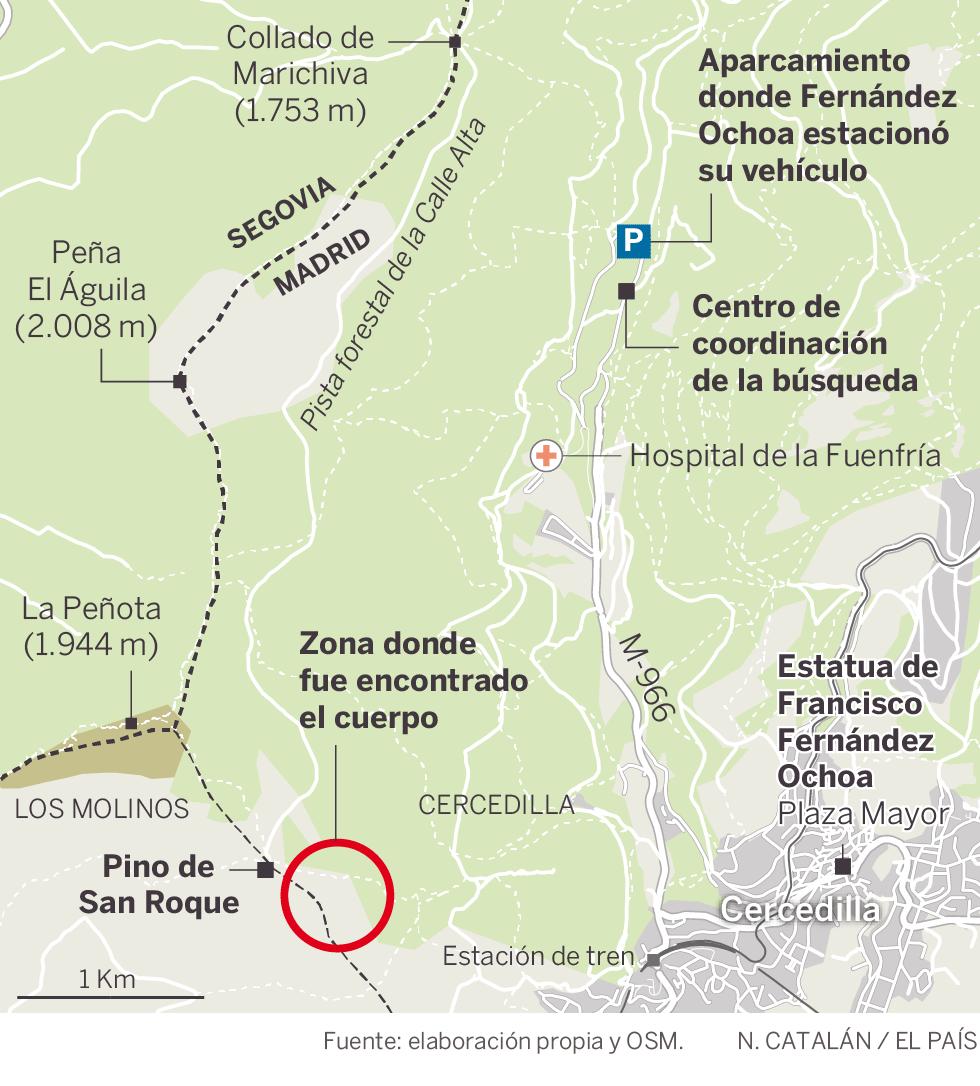 Los investigadores hallaron medicamentos junto al cuerpo de Blanca Fernández Ochoa