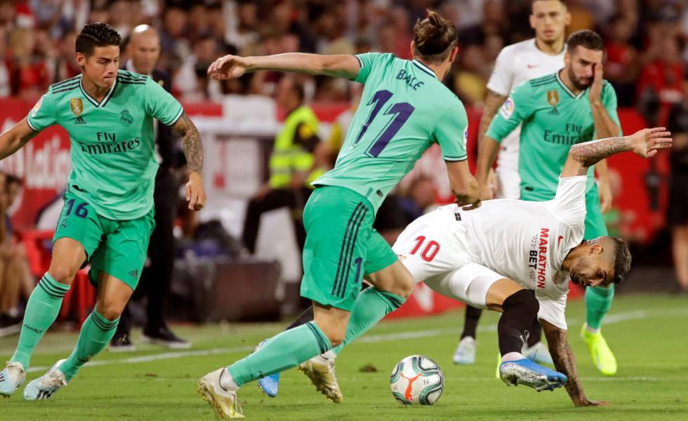 Sevilla - Real Madrid en directo, la Liga Santander en vivo