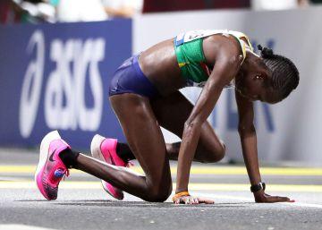 40 mulheres sobrevivem à maratona mais dura da história