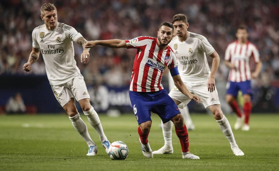 elegir original zapatos de otoño los recién llegados Empate sin goles entre el Atlético y el Real Madrid ...