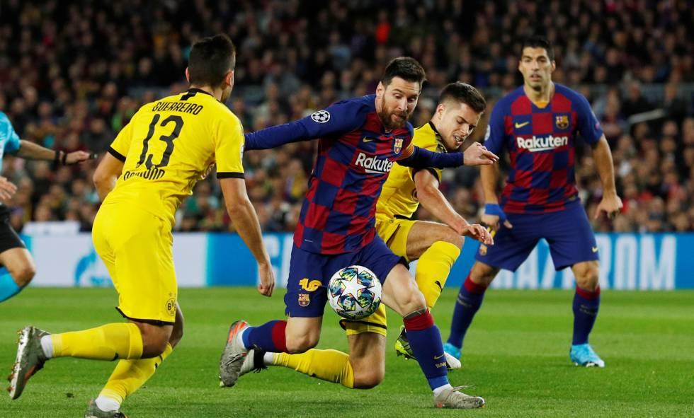 El Barça Derrota Al Dortmund Y Se Clasifica Como Primero De