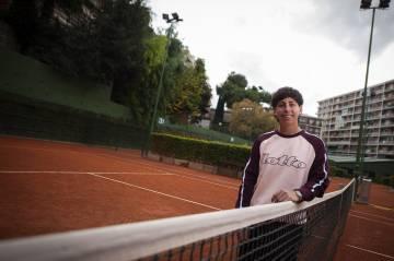 """I'm keeping my tennis hooked people"""