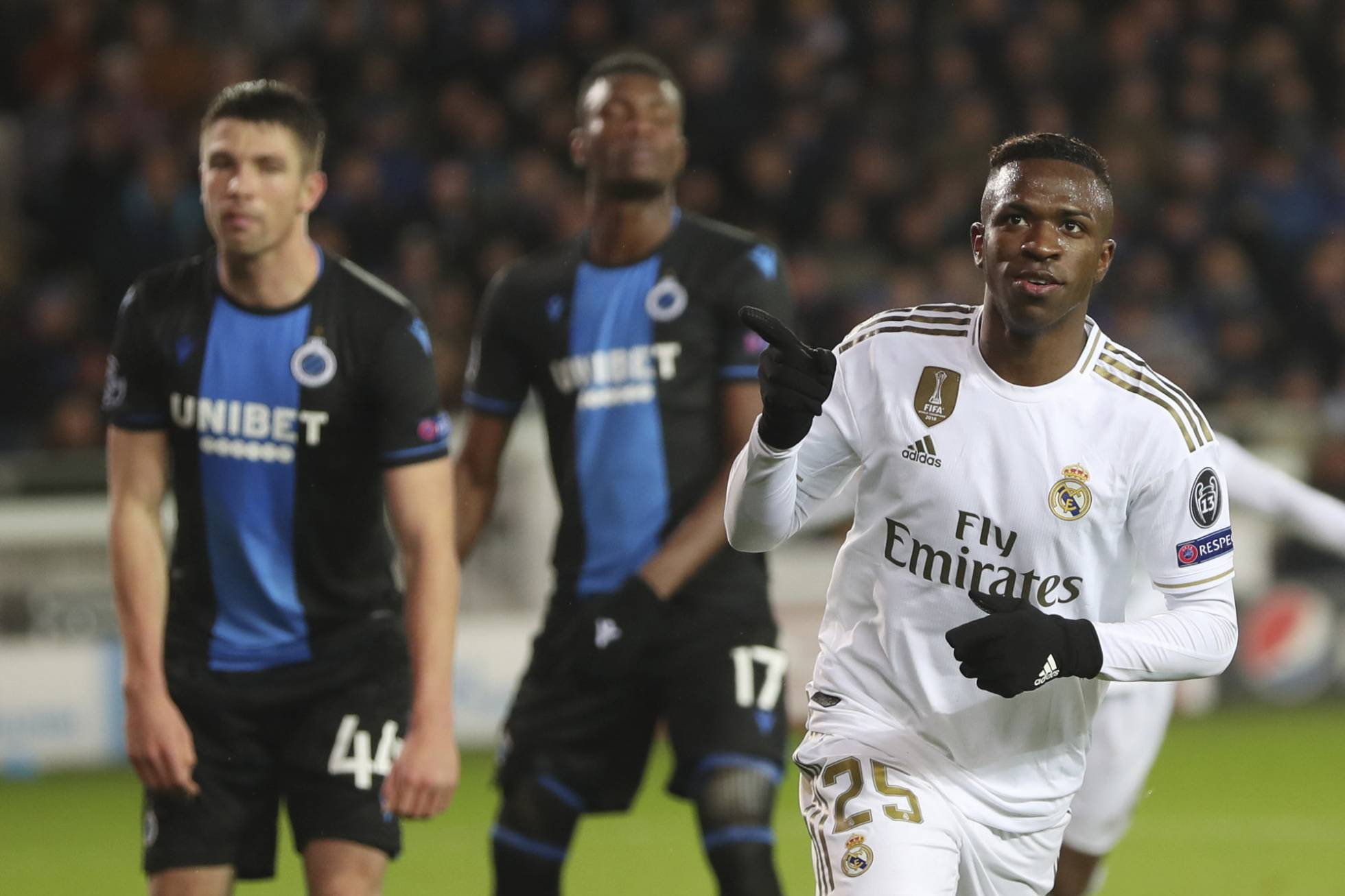 El Real Madrid, ya clasificado, cumplió con su tramite en Belgica y le gano a las Brujas (Vídeo) 1576088145_943554_1576101081_noticia_normal_recorte1