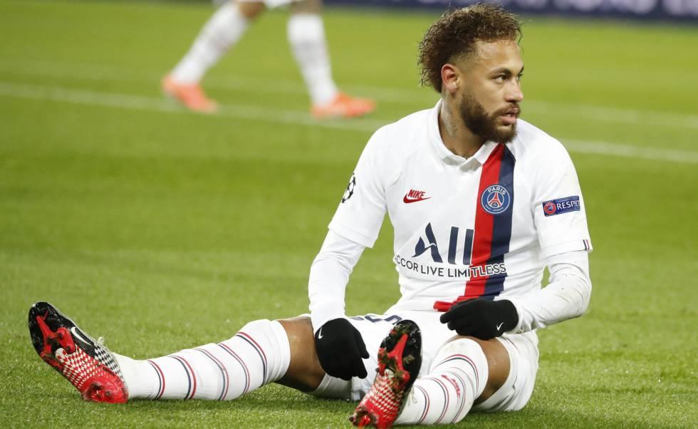 Neymar, en el duelo ante el Galatasaray en la Liga de Campeones. rn rn rn