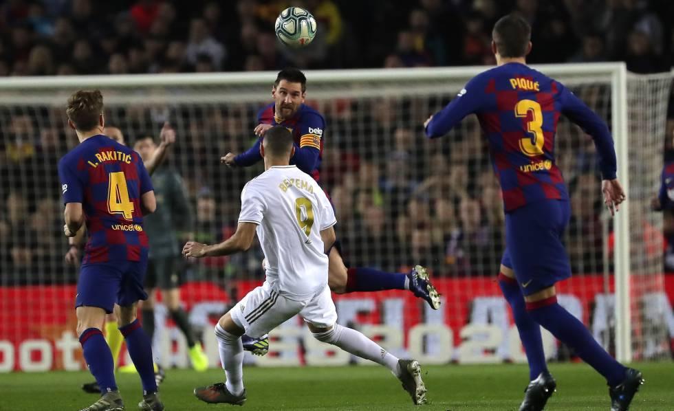 Barcelona Y Madrid Un Clásico Sin Goles Deportes El País