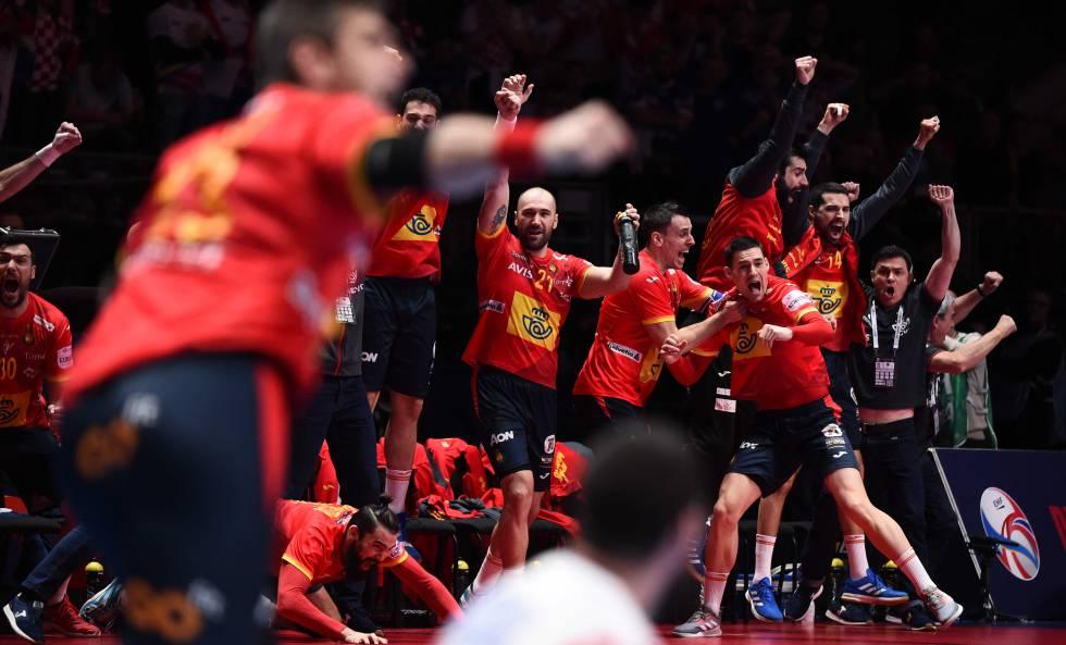 España Campeona Del Europeo De Balonmano Tras Vencer A Croacia 22 20 Deportes El País