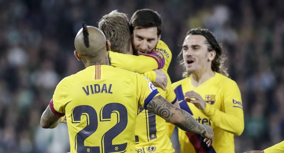 Betis Barcelona en directo