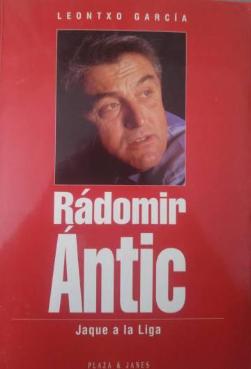 Portada del libro biográfico de Ántic (Plaza y Janés, 1996).