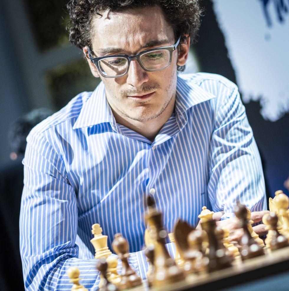 Fabiano Caruana, durante el torneo de Zagreb de 2019, correspondiente al circuito del Grand Chess Tour