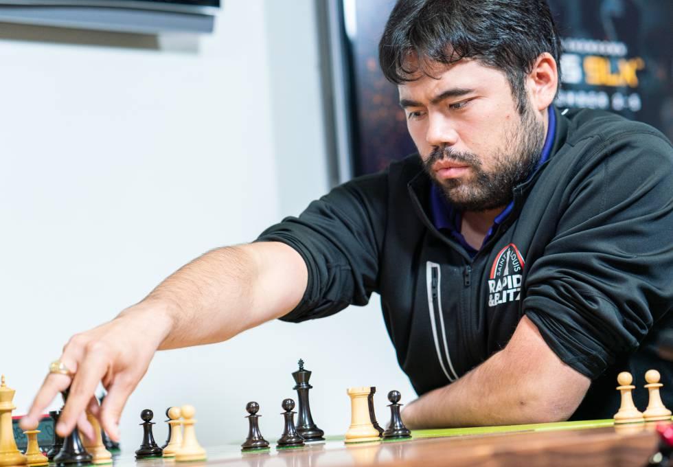 Hikaru Nakamura, durante un torneo de ajedrez 960 el año pasado en el Club de Ajedrez de San Luis (Misuri, EEUU)