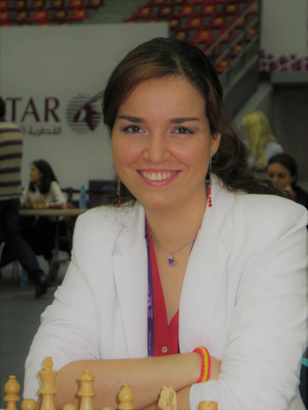 Sabrina Vega, en 2016 durante la Olimpiada de Bakú (Azerbaiyán)