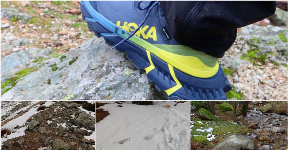 La prueba transcurrió por pedregales, nieve, hielo, cesped, ríos, singletrail y terreno embarrado.
