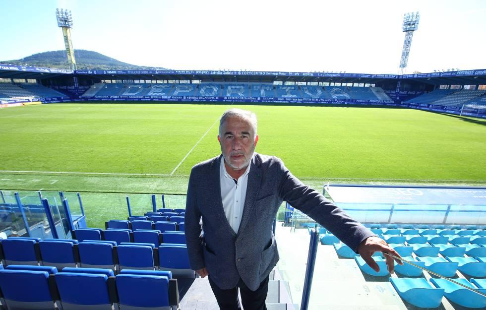 El presidente del 'Ponfe', José Fernánez.