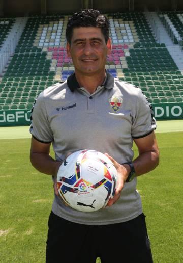 El director de cantera del Elche CF, Jorge Raffo.