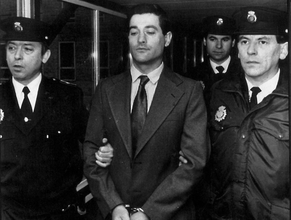 José Antonio Rodríguez Vega, acusado del asesinato y violación de varias ancianas, durante el juicio en Santander.