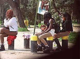 prostitutas en accion prostituta callejera