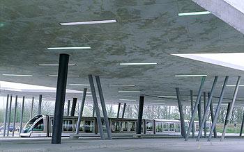 aspecto de la terminal hoeinheim norte la obra que le ha valido el premio a