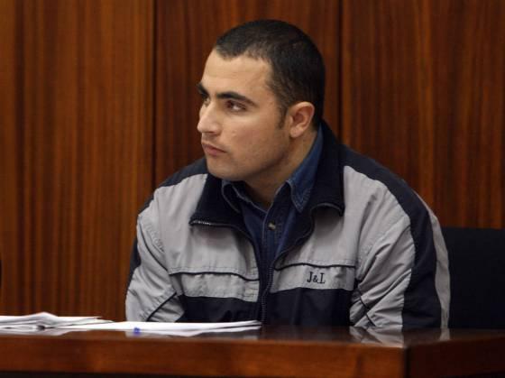 Vasile Tudose, de nacionalidad rumana, acusado de la muerte del párroco de Villafranca de Córdoba, Tomás Pérez, de 75 años, durante el juicio en la Audiencia Provincial del Córdoba.