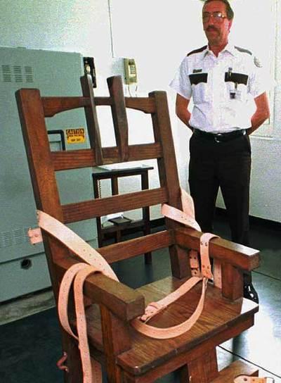 Resultado de imagen para imagenes silla electrica