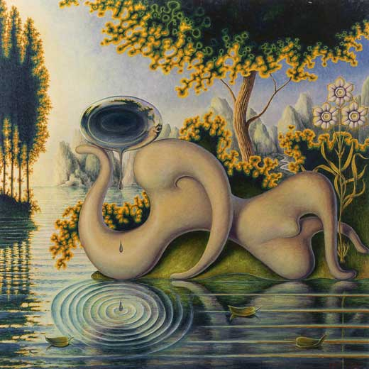 Las lágrimas de Narciso (2006), de Guillermo Pérez Villalta.