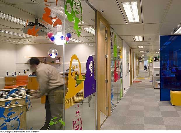Las oficinas de google en madrid edici n impresa el pa s for Horario oficinas bankinter madrid