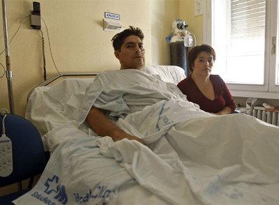 Fotos de enfermos terminales de cancer