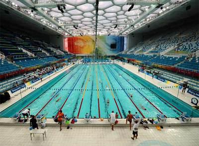 Viaje a la piscina m s r pida edici n impresa el pa s for Piscina olimpica madrid