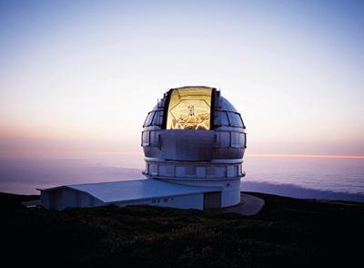 Resultado de imagen de Telescopios terrestres de Canarias