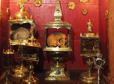 Resultado de imagen de Las reliquias de los Santos