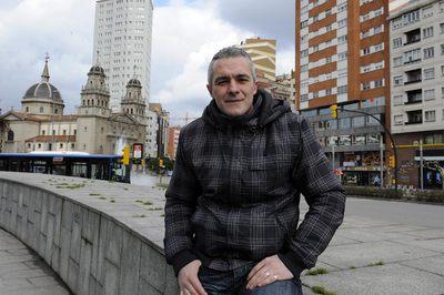Jorge Ortiz, ayer en Gijón.