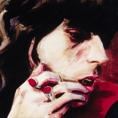 Retrato de Keith Richards, de la pintora Elizabeth Peyton.