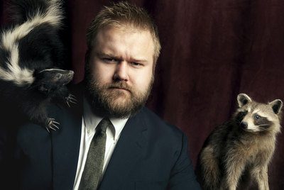 Robert Kirkman, creador del cómic  The walking dead.