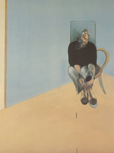 Study for Self Portrait 1982, 1984 de Francis Bacon.