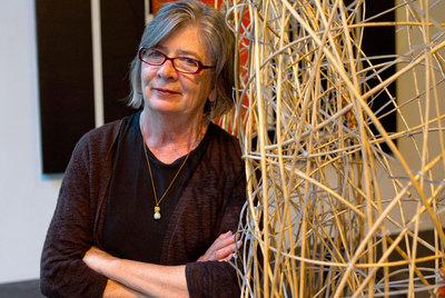 La ensayista y activista social Barbara Ehrenreich, en Barcelona.