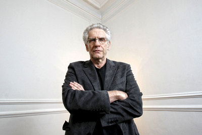 El cineasta David Cronenberg, retratado en Madrid.