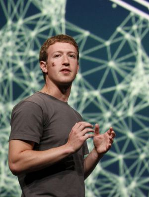 Mark Zuckerberg, fundador y principal accionista de Facebook.