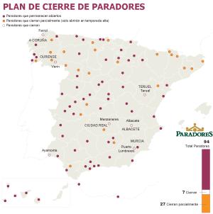 Paradores En España Mapa.Castillos Y Palacios En El Aire Economia El Pais