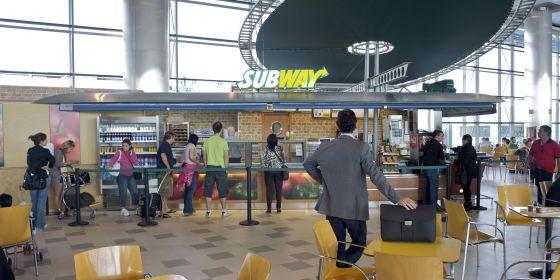 Un establecimiento de Subway, en una imagen cedida por la empresa.