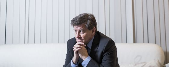 Guy Ryder, director general de la OIT, durante una visita a Madrid.