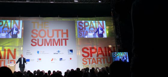 Eric Schmidt, consejero delegado de Google, durante The South Summit.